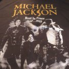 MICHAEL JACKSON TEE The King Of Pop 1958-2009 REST IN PEACE  Shirt BLACK NEW 3XL