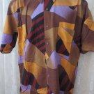 Giorgio  DANIELI Shirt VINTAGE Dress Casual Retro   MEDIUM Club Hawaiian