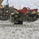 "INDIAN MOTORCYCLE MODEL Plastic US ARMY Display 16"" Large CAMOUFLAGE MAIL CARRY"