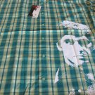 DRAGONFLY Scarface Tony Montana Al Pachino Button Front Shirt Plaid  L NWT COTN