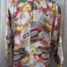 Giorgio DANIELI Shirt HAWAIIAN PIPE TOBACCO NWT Vintage  Retro RARE FIND M