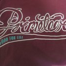 PRIMITIVE TEE SMALL Burgundy Wine Good For Life