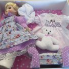 CAMEO KIDS COLLECTION Doll with Accessories Pink White Carry Case Adorable!
