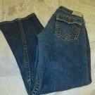 "True Religion JOEY BIG T Twisted Leg GOLD Metallic Stitch Hardware 28 x 31 ½"""