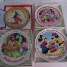 DISNEY SCHMID PLATES Fantasia MICKEY MINNIE Bambi Mothers Day Valentines Day