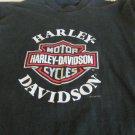 HARLEY DAVIDSON SHIRT Tee BLACK SMALL 1996 Victorville