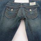 TRUE RELIGION JOEY TWISTED LEG 27 x 32 Denim Jeans EXCELLENT