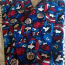MARVEL FLEECE FLANNEL PAJAMA BOTTOMS Lounge Wear XXL 44-46 NEW Blue
