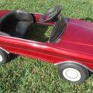 VINTAGE CAR 1980 Battery RARE Red Mercedes 650 J.S. Metal Repair Restore Parts