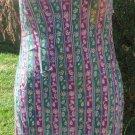 JILL STUART DRESS Silk Petite Multi Color Shift Sun Dress