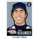 2012 Panini Triple Play #28 Justin Verlander