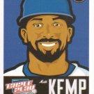 2012 Panini Triple Play #42 Matt Kemp