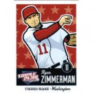 2012 Panini Triple Play #89 Ryan Zimmerman