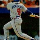 1994 Stadium Club #313 Terry Pendleton