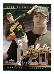2005 Fleer Showcase #83 Mark Mulder