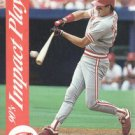 1992 Score Impact Players #45 Hal Morris