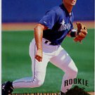 1994 Ultra #421 Anthony Manahan RC