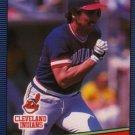 1986 Leaf/Donruss #82 Brook Jacoby