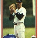 1981 Topps #38 Win Remmerswaal RC