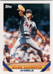 1993 Topps #210 Mark Langston