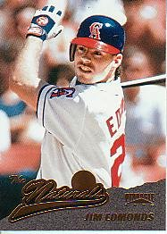 1996 Pinnacle #145 Jim Edmonds NAT