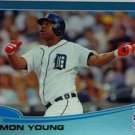 2013 Topps Wal Mart Blue Border #121 Delmon Young