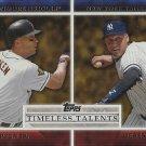 2012 Topps Timeless Talents #TT25 Cal Ripken/Derek Jeter
