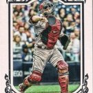 2013 Topps Gypsy Queen Framed White #313 Miguel Montero