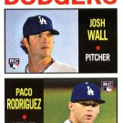 2013 Topps Heritage #14 Josh Wall RC/Paco Rodriguez RC