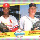 1989 Fleer 652 Ken Hill RC and/Dennis Cook RC