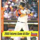 2005 Topps Update #208 Miguel Montero FUT RC