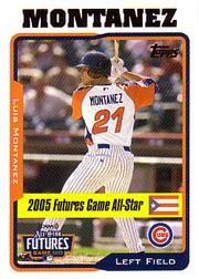 2005 Topps Update #210 Luis Montanez FUT