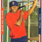 2005 Topps Update #279 Willy Mota FY RC