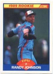 1989 Score #645 Randy Johnson RC