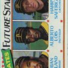 1980 Topps #683 Dorian Boyland RC/Alberto Lois RC/Harry Saferight RC