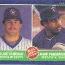 1986 Fleer #652 B.Robidoux/M.Funderburk RC