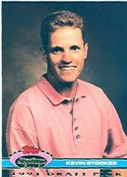 1992 Stadium Club Dome #181 Kevin Stocker RC