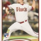 2012 Topps #558 Wade Miley RC
