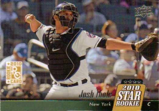 2010 Upper Deck #30 Josh Thole RC
