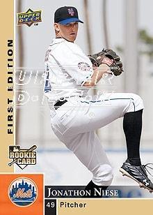 2009 Upper Deck First Edition #198 Jonathon Niese RC