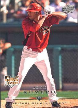 2008 Upper Deck #721 Alex Romero (RC)