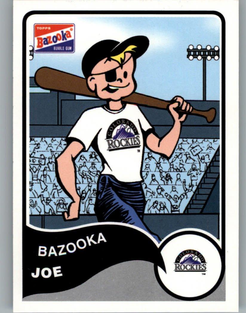2003 Bazooka #7RC Bazooka Joe Rockies