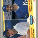 1989 Fleer 648 Torey Lovullo RC and/Robert Palacios RC