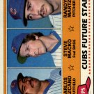 1981 Topps #381 Carlos Lezcano RC/Steve Macko/Randy Martz RC