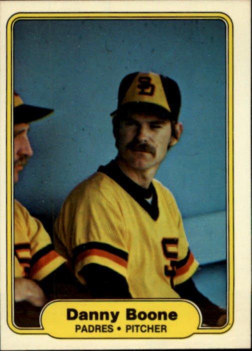 1982 Fleer 568 Danny Boone RC