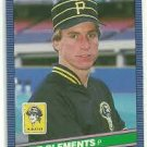 1986 Donruss 600 Pat Clements RC