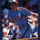 1986 Donruss 523 Mitch Webster RC