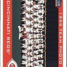2000 Fleer Tradition Glossy #255 Cincinnati Reds