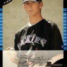2005 Bowman Draft #91 Zach Simons FY RC