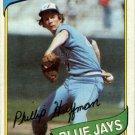 1980 Topps 142 Phil Huffman RC
